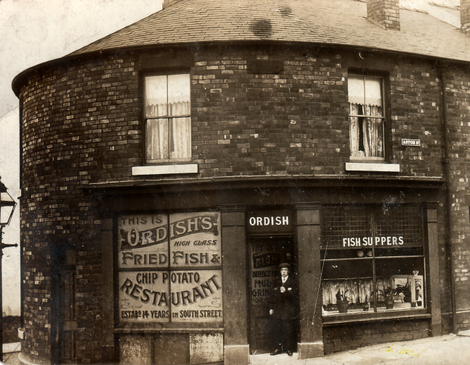Ordish's Fried Fish & Chip Potato Restaurant, Sheffield