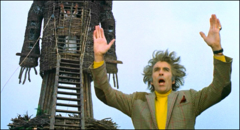 Lord Summerisle and the Wicker Man