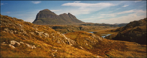 Suilven viewed from the west © Roger Butterfield